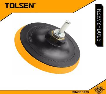 Tolsen Plastic Backing Pad with Velcro (115mm (M14x2) 77260