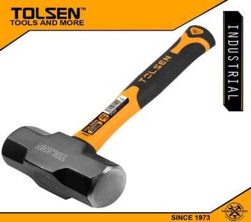 TOLSEN Sledge Hammer (1.8kg / 4lbs) Fiberglass Handle 25044