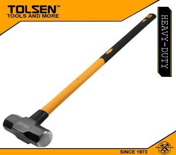 TOLSEN Sledge Hammer (2.7kg / 6lbs) Fiberglass Handle 25045