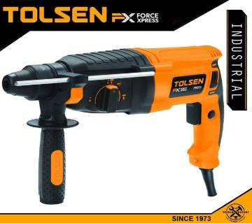 TOLSEN Rotary Hammer Drill 800W 26mm Industrial FX Series 79511