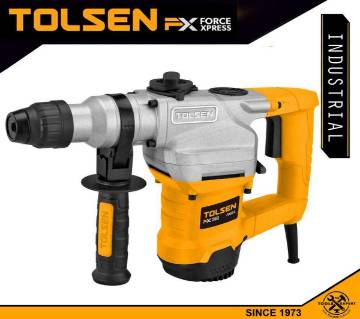 TOLSEN Rotary Hammer 1100W 28mm Industrial FX Series 79512