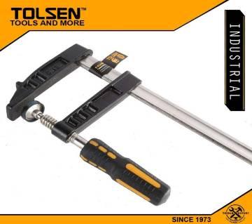 "TOLSEN F Clamp (120mm x 40"") Plastic Handle 10194 Industrial Series"