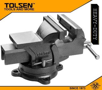 TOLSEN Bench Vice (6inch 150mm) Swivel Base with Anvil 10105