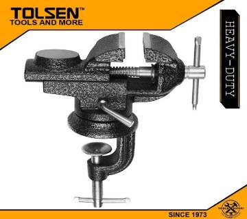 Tolsen 2inch (50mm) Table Vise Swivel Base with anvil 10107