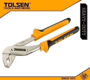 "Tolsen Water Pump Pliers (10"") TPR Handle 10014"