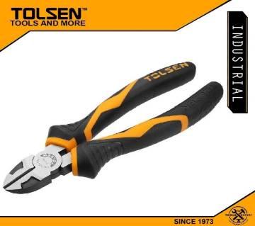 "TOLSEN Diagonal Cutting Pliers (7"") Industrial GRIPro Series 10019"
