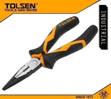 "TOLSEN Long Nose Pliers 8"" (200mm) Industrial GRIPro Series 10022"
