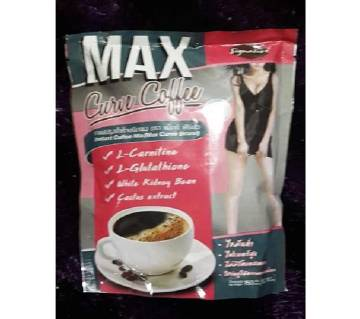 MAX Curve Coffee Diet Slimming Coffee for Lose Weight Loss Fat Burn Detox