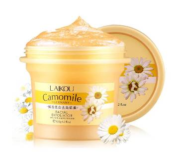 Laikou Camomile Facial Exfoliator Gel (for deep clean & whitening)-120gm-China