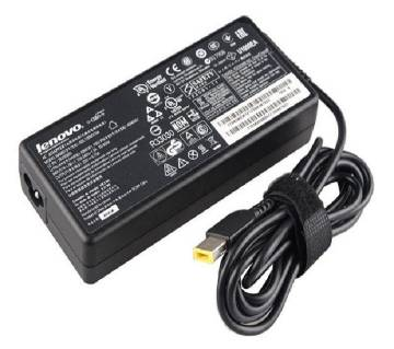 Lenovo 20V 3.25A Yellow USB Pin Laptop Adapter - Black