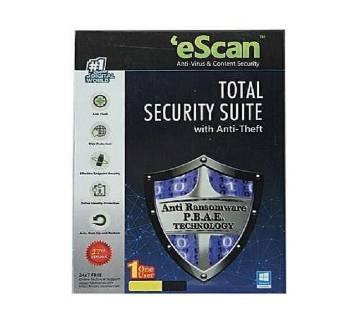 eScan Total Security Antivirus with Anti Theft