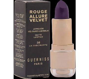 Guerniss Velvet Matte Lipstic (France)
