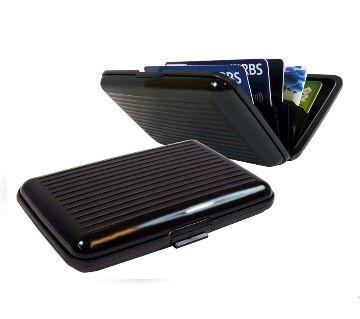 Security Credit Card Wallet - Black