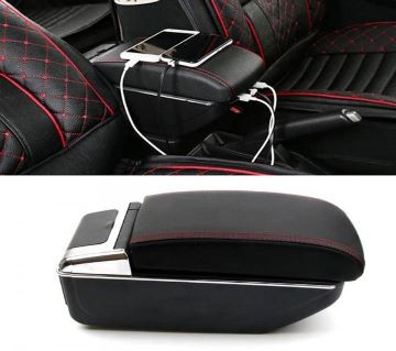 USB Universal car armrest car console box
