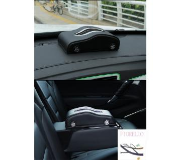 UP LEATHER CAR TISSUE BOX