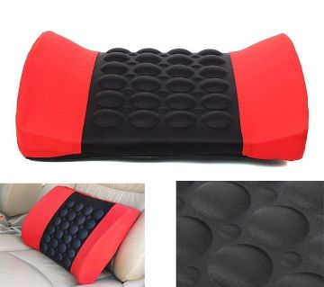 Car Seat Back Vibrating Message Pillow