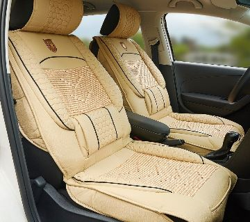 PU Leather Front 2 seat Cushion