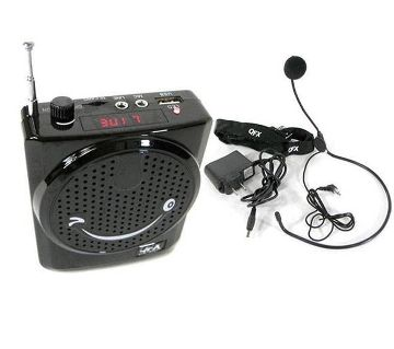 Microphone mp3 FM Radio Portable Loud Speaker