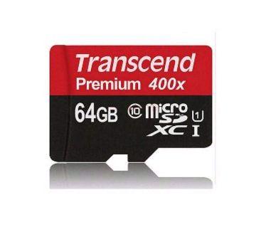 Transcend memory card 64 gb