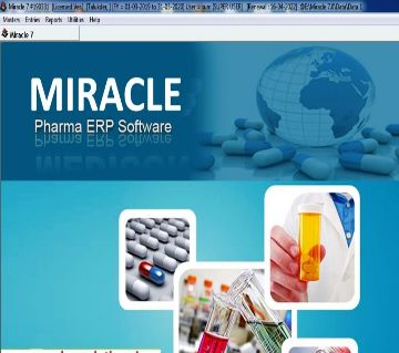 Miracle Pharma ERP Software Lifetime