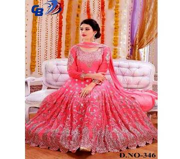 Georgette with Embroidery