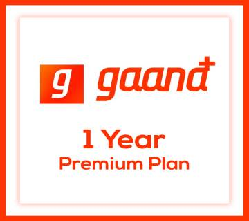 Gaana plus 1 year account