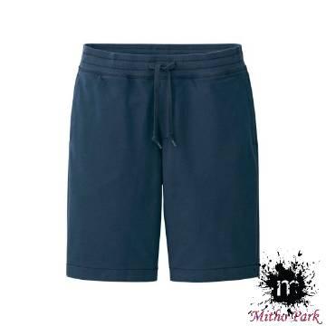 Black Mans Comfortable Cotton Cargo Shorts Half Pants-black