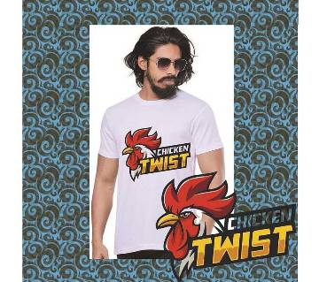 Chicken Twist T-Shirt for Summer Mans