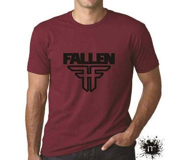 Cotton Gents Half Sleeve T-Shirt For Summer