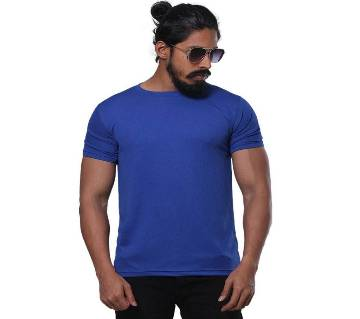 Half Sleeve Solid Color T Shirt For Men