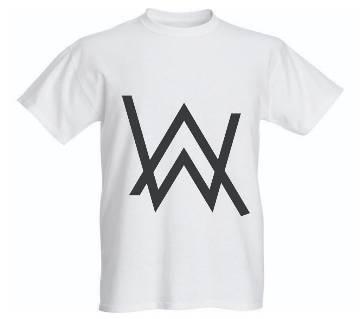 Mans Printed Half Sleeve T-Shirt