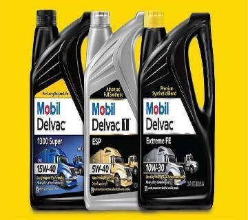 Mobil Delva Extreme Synthetic diesel engine oil (1 liter)