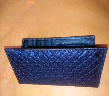 Mens Long Shaped Wallet Chocolate for Fashion-20