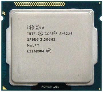 Intel Core i3 3.30GHz  (3rd Gen)