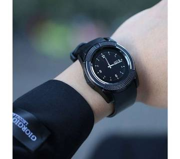 Smart Watch V8 Men Bluetooth Sport Watches Camera Sim Card Slot Android Phone