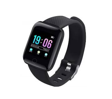 116 Plus Smart watch Bracelets Fitness Tracker Heart Rate Step -