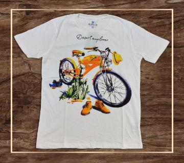 Desert explorer cotton t-shirt
