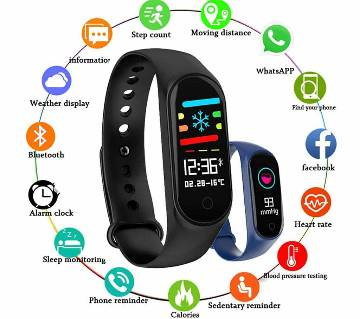 Heart Rate Smart Sport Waterproof Android Watch