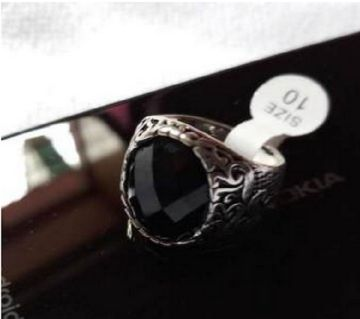 Silver Stylish Men Ring Gift For You