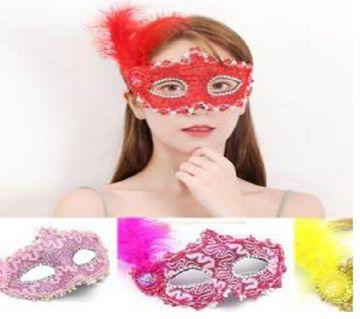Halloween eye mask for women