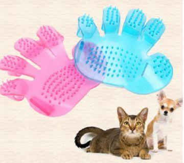 silicon pet care brush