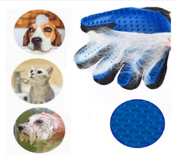 1 PC Cat Grooming Glove Pet Hair Remove Gloves Clean Deshedding Effective Massage Cat Grooming Glove Dog combs