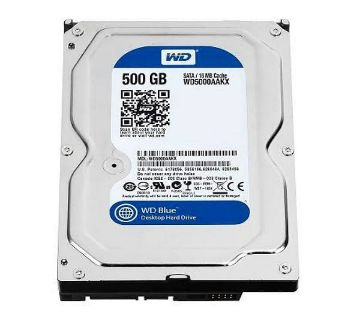 Western Digital Blue 500GB SATA 5400RPM 2.5 Inch Notebook HDD #WD5000LPCX