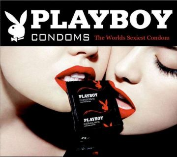 Playboy Lubricated Ultrathin Condoms No compromised Pleasure 3pcs