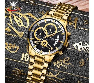 NIBOSI 2309-AC Mens Chronograph Quartz Wristwatch