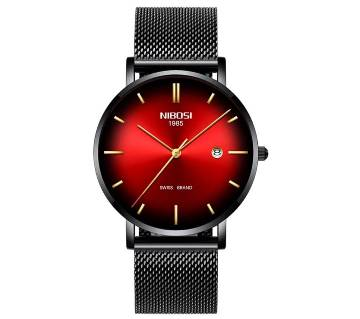 NIBOSI NI-2362 Waterproof Ultra Thin Quartz Watch for men