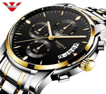 NIBOSI 2353 Mens Chronograph Quartz Wristwatch