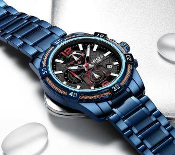 NIBOSI  Mens Chronograph Quartz Wristwatch