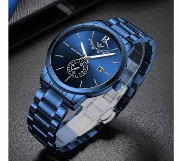 NIBOSI 2318 Masculino Relojes Watch - Blue