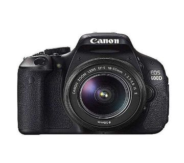 Canon EOS 600D Digital DSLR Camera With 18-55 mm f/3.5-5.6 IS II Lens